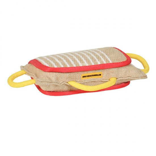 Intermediate K9 Bite Training Pad with Three Handles