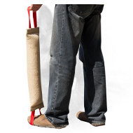 XXL Jute Dog Bite Tug for Training Large Breeds