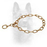 Curogan Fur Saver K9 Choke Collar - 1/9 inch (3.0 mm) link diameter