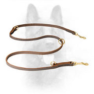 Multimode K9 Leather Dog Leash