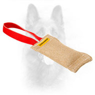Jute Dog Bite Tug for Puppy Elementary Training