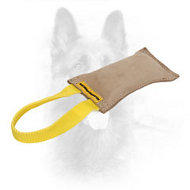 Genuine Leather K9 Dog Bite Tug for Playing and Training
