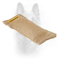 Pocket Size K9 Jute Bite Tug without Handles
