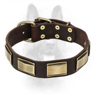 Designer Dog Collar With Beautiful Decoration For Canine