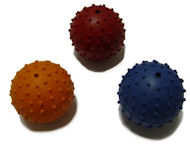 Rubber Squeaky Ball Dog Toy 2 3/8''(6cm)-K-9 dogs Dog Toys