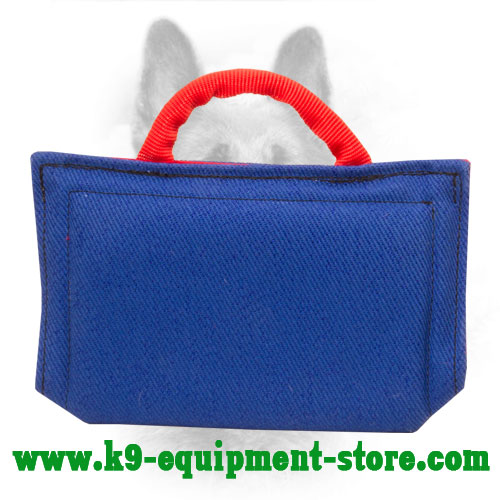 French Linen Canine Bite Sleeve with 1 Nylon Handle
