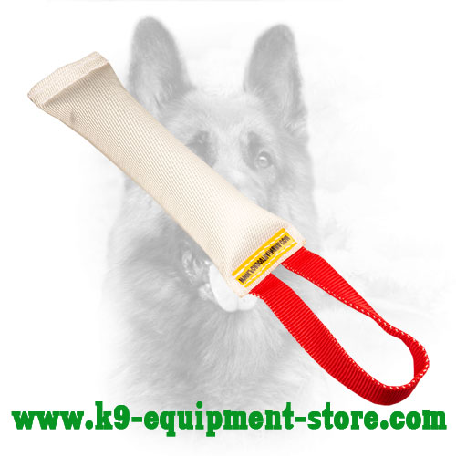 Fire Hose K9 Bite Tug with 1 Handle