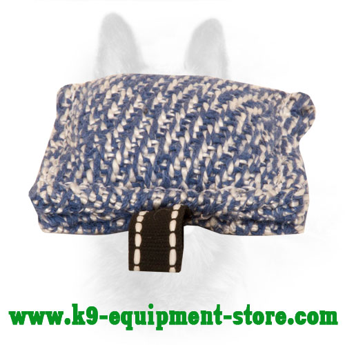 French Linen K9 Bite Tug Pocket Size