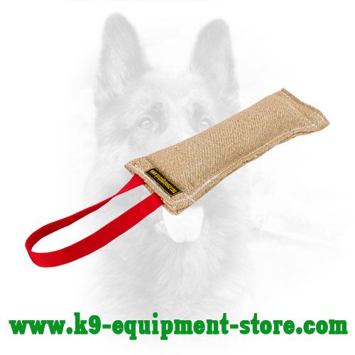 Jute K9 Bite Tug with Handle for Training