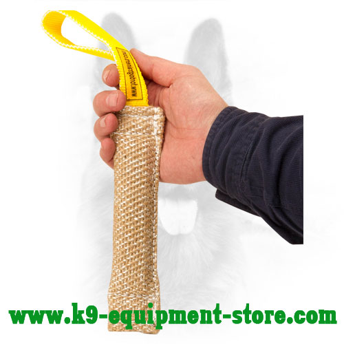 Jute Canine Bite Tug for Puppy Training