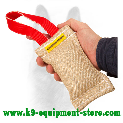 Canine Bite Tug Made of Jute for Puppy Training