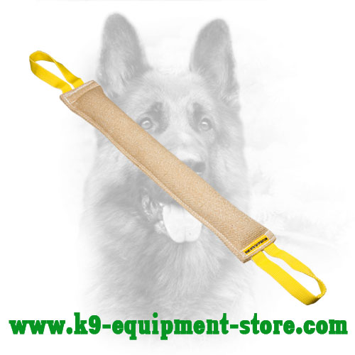 Jute Dog Bite Tug for Retrieve Training