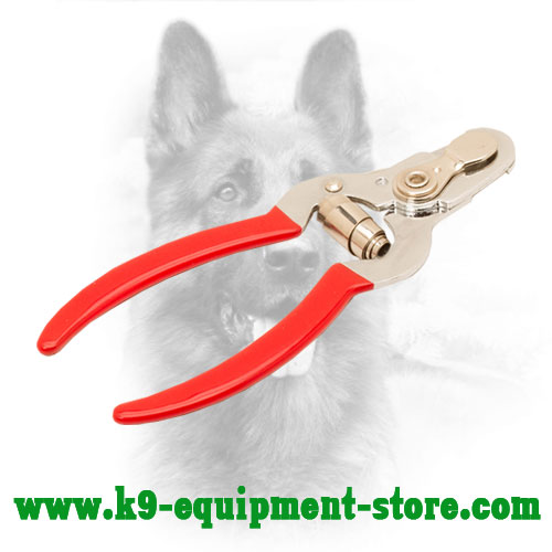 Dog Nail Trimmer Equipped with Vinyl Handles