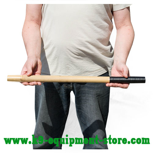 Dog Stick Bamboo with Tape Covered Handle Grip