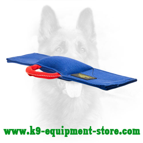 French Linen Dog Training Pad for Schutzhund Training