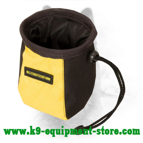 Nylon Canine Training Pouch with Belt Clip