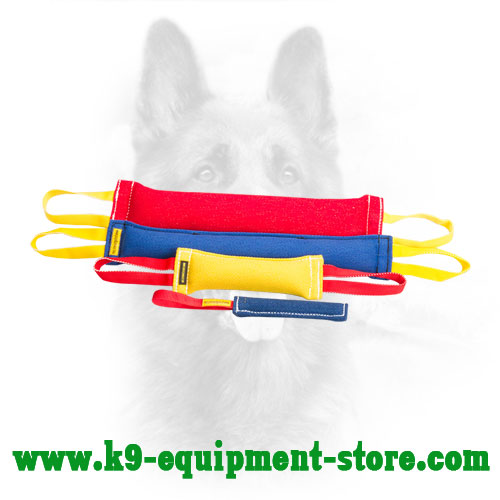 French Linen Canine Training Set with Bonus Bite Tug