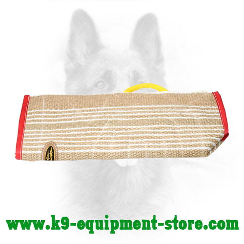 Jute K9 Training Sleeve Cover with One Handle