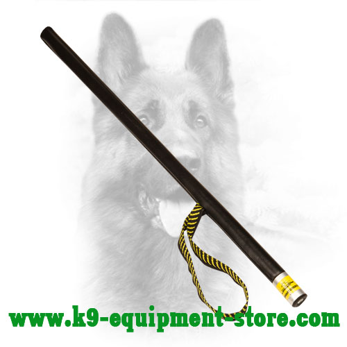 Plastic Leather Covered Dog Stick for Agitation Training