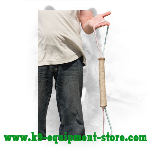 Durable Jute Dog Tug Roll for Training