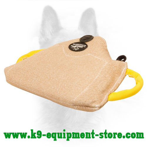 Canine Jute Bite Builder with One Inside Handle