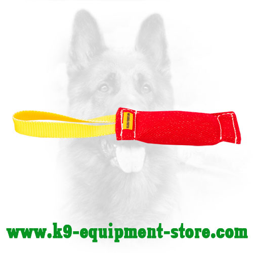Canine Bite Tug Made of French Linen for Training