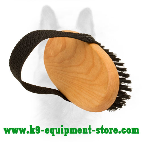 Canine Nylon Bristle Brush for Grooming