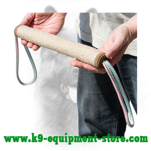 K9 Dog Roll Jute with Two Handles