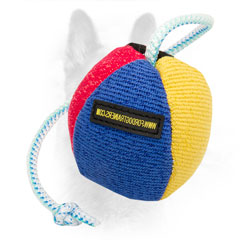 K9 French Linen Dog Bite Toy with String for Playing