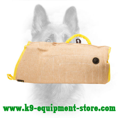 Canine Jute Bite Sleeve with Outside Handle