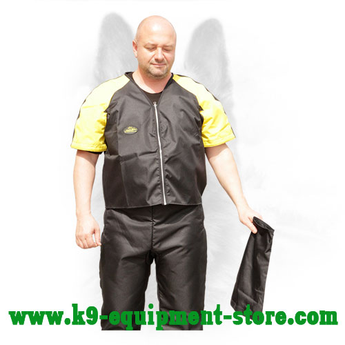 Waterproof Nylon Protection Scratch Jacket with Removable Sleeves