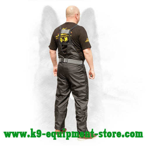 Protection Nylon Scratch Pants with Back Belt
