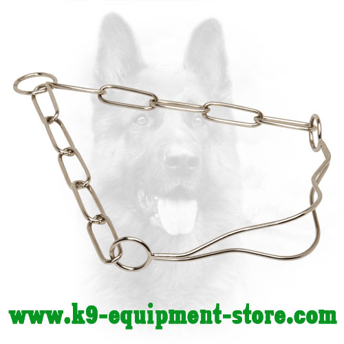 Canine Chrome Plated Collar for Dog Shows