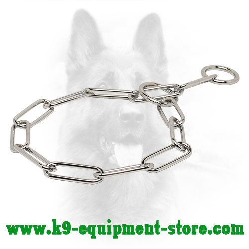 Canine Steel Fur Saver with 2 Rings