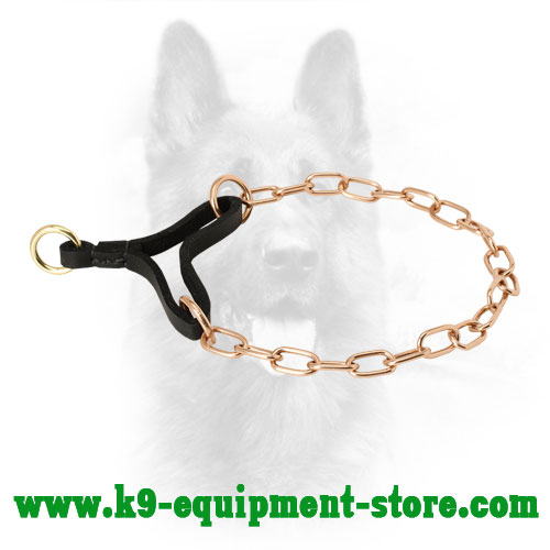 Canine Curogan Martingale Collar for Obedience Training