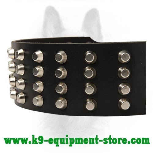 Steel Nickel Plated Studs Secured with Rivets