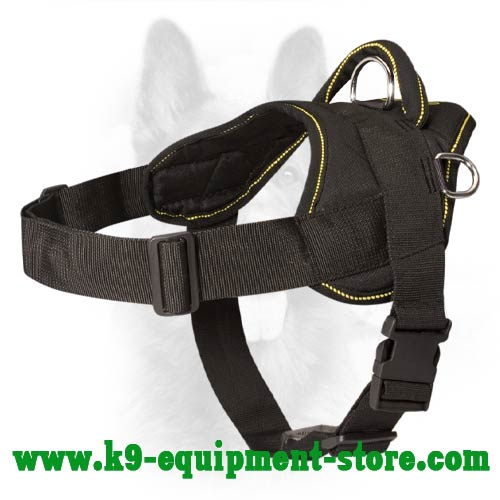 K9 Harness Nylon with Quick Release Buckle