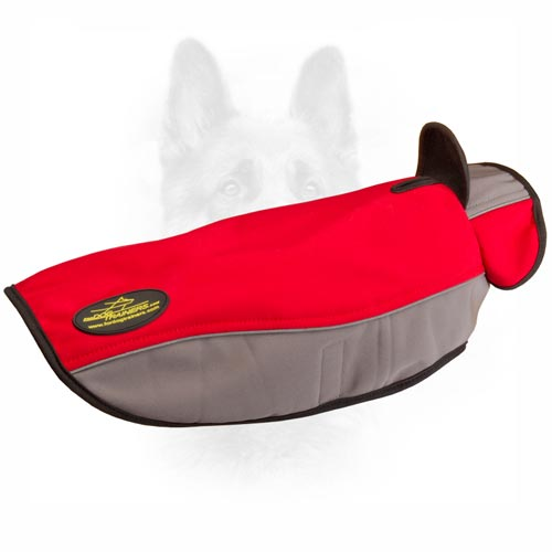 Originally Designed K9 Dog Coat With A Stand-Up Collar