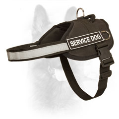 K9 Nylon Dog Harness with Patches for Identification