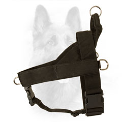 K9 Dog Harness Nylon with Rust Resistant Rings