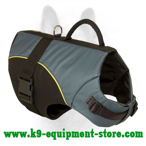 Nylon Dog Vest for K9 All Weather Walking and Rehabilitation