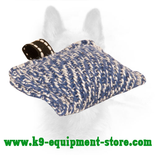 XXS French Linen K9 Puppy Bite Pillow