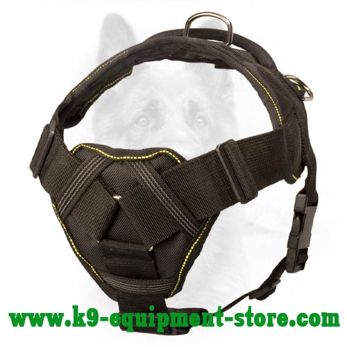 Pulling, Tracking, Walking Nylon Canine Harness