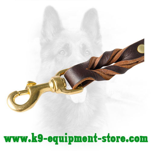 Brass Snap Hook for Easy Control Over Police Dogs