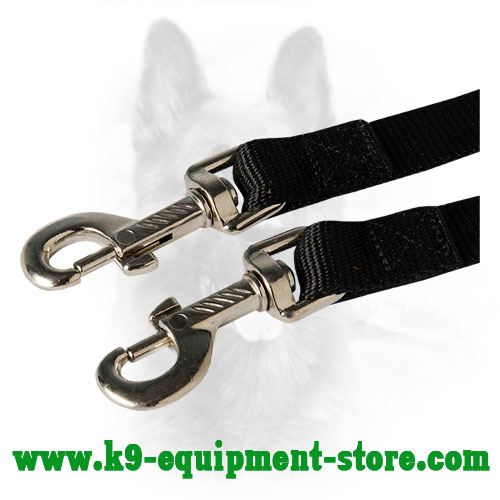 Steel Snap Hooks of Police Nylon Dog Coupler