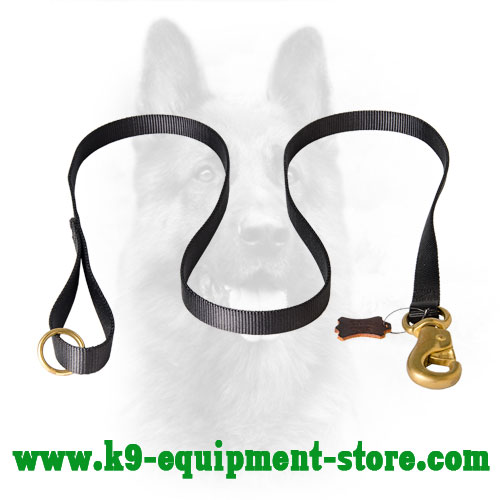 K9 Nylon Dog Lead for Tracking