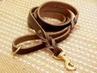 Handcrafted leather dog Lead for walking and tracking- 2-6 foot-K9 Dogs