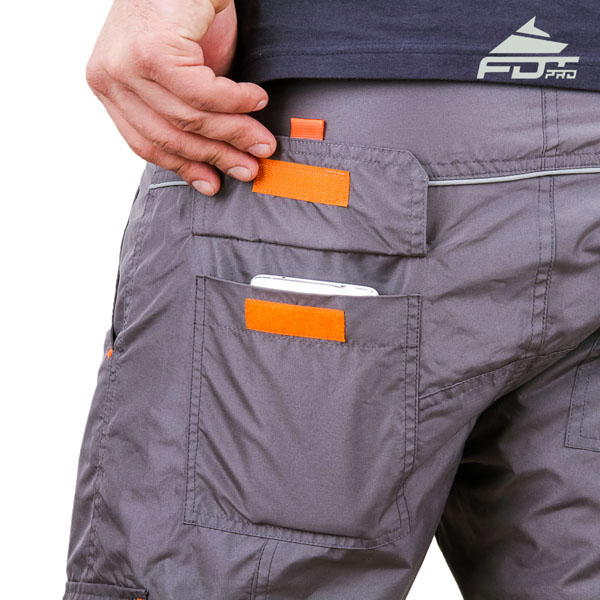 Comfy Design Pro Pants with Reliable Side Pockets for Dog Training