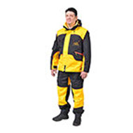 """Aqua, Wind and Mud Shield"" Dog Training Suit of Membrane Fabric"