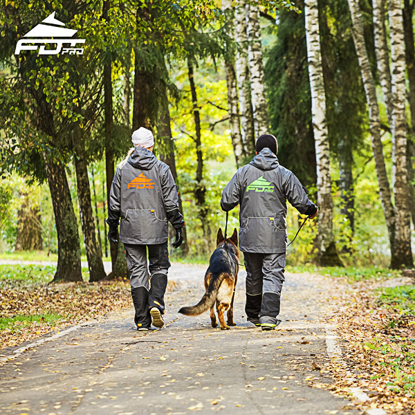 FDT Pro Dog Trainer Jacket of High Quality for Any Weather Conditions